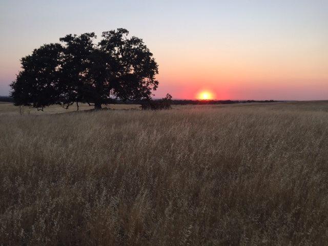 sunset at deer creek