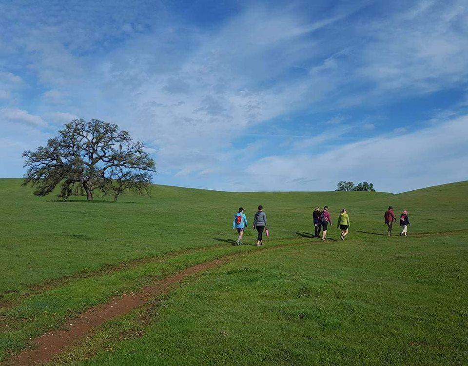 Hikers at Deer Creek Hills.